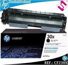 TONER CF230X ORIGINAL XL CARTUCHO NEGRO PARA IMPRESORAS HP LASERJET GENUINE 230X