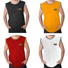 Men's Cool Vest   Gym Vest Training Sleeveless Breathable Muscle Top M-5XL
