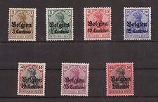 1916 Belgien aus Mi. 1-9 ** postfrisch Einzelmarken zur Auswahl