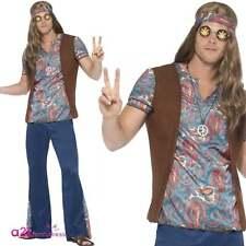 Orion The Hippie Attrezzatura Adulto Anni '60 e '70 Festival Carnevale Costume