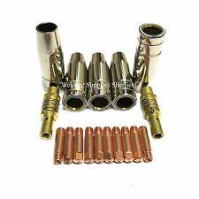 MB15 Mig welder, Mig Tips Mig, Gas Nozzle, Tip Adaptor
