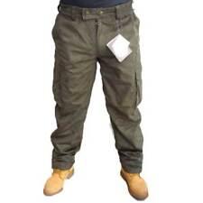 Pantalone pantaloni scamosciato scamosciati impermeabile uomo caccia moto pesca