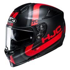 HJC rpha 70 grafica gaon nero rosso casco integrale visiera trasparente occhiali