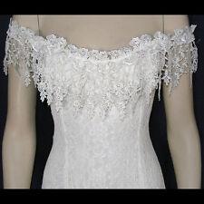 Ivory Lace Peasant Casual, Western, Beach Wedding Dress, S-XXXL