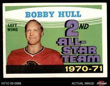 1971 O-Pee-Chee #261 Bobby Hull - 2nd All-Star Team Blackhawks EX/MT