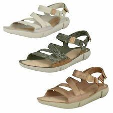 Ladies Clarks Strappy Sandals Tri Sienna