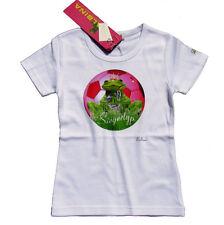 BALBINA Frog T-Shirt Frog Fußball Siegertyp pink weiß Frosch Swarovski Gr 92 NEU