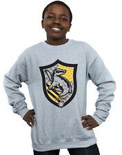 Harry Potter Niños Hufflepuff Crest Flat Camisa De Entrenamiento
