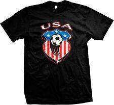United States National Team USA Soccer Football Red White Blue Mens T-shirt