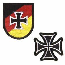 Aufnäher  Reservisten der Bundeswehr oder Eisernes Kreuz Abzeichen Patch