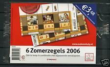 Nederland 2417-2418 2 blokken zomerzegels in cellofaan