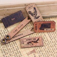 Prima (554439)  Wooden Tickets Almanac    6 Pieces  NEW
