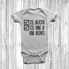 Ancora allattati al seno AFFAR vostro BABY GROW Tuta Gilet l'allattamento al seno