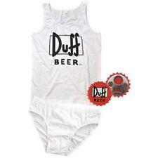 Set Completo Intimo Uomo + Apribottiglie, Canotta e Slip Duff Beer Simpson *1166