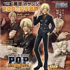 JAPAN Mega House One Piece P.O.P POP 'Sailing Again' Figure SANJI New World Ver.