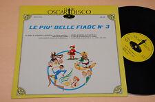 LP LE PIU' BELLE FIABE ALI' BABA' PINOCCHIO ALADINO ..ORIG 1971 NM !