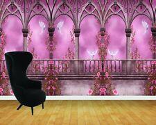 Enchanted Castle Arches Ballroom Wall Art Wall Mural Adhesive Vinyl Wallpaper*