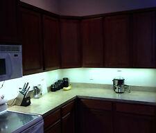 Kitchen Under Cabinet 5050 Bright Lighting Kit COOL WHITE LED Strip Tape Light