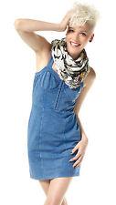 Sweat-Kleid Mini-Dress. Material Girl Madonna. Jeans-Blau. NEU!!! SALE%%%