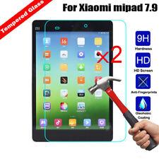 2Pcs Anti-Scratch Tempered Glass 9H Screen Protector For Xiaomi Mipad mi Pad 2 3