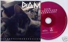 DOM Sun Bronzed Greek Gods 2011 UK 7-trk promo CD card sleeve