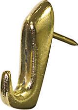 Hillman Fasteners 122206 Push Pin Hangers, Brass, 5-Pk.