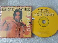 CD-CHRISTO-LAISSE TOMBER-J.F.HUDO/N.SPANOUDIS/C.GRILLIS-(CD SINGLE)1998-2TRACK