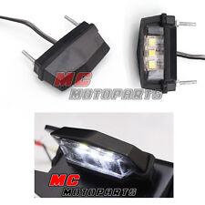 Black Rear TAIL TIDY LAMP / MICRO LED Number Plate 'LED Light' MC Motoparts