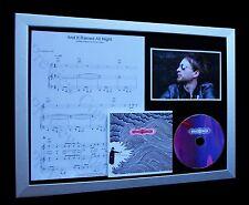 THOM YORKE+RADIOHEAD Rained All Night QUALITY CD FRAMED DISPLAY-FAST GLOBAL SHIP