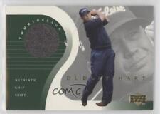 2001 Upper Deck Tour Threads #TT-DH Dudley Hart Rookie Golf Card