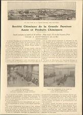 77 MONTEREAU STE CHIMIQUE DE LA GRANDE PAROISSE AZOTE & PRODUITS CHIMIQUES 1923