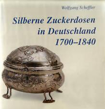 Fachbuch Silberne Zuckerdosen in Deutschland 1700-1840 OVP tolles Buch