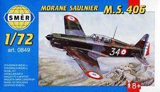 MORANE MS 406 (ARMEE DE L'AIR/FRENCH AF & TURKISH AF MARKINGS) 1/72 SMER