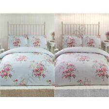 Maisie Parure lit florale ensembles LITERIE - Gris,bleu sarcelle - Double & King