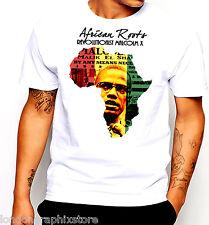 Black History Month T-shirt, Black Panthers, Huey P Newton, Malcolm X Cotton Tee