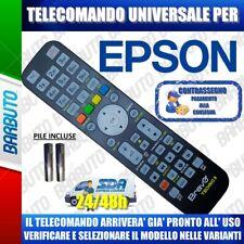 TELECOMANDO UNIVERSALE EPSON CLICCA IL TUO MODELLO LO RICEVERAI GIA PRONTO