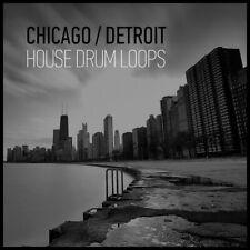 Chicago/Detroit House Drum loops (24-bit WAV) Ableton Live FL Studio Cubase