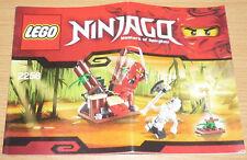 LEGO Ninjago edifici per 2258, only instruction