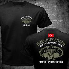 New Turkish Special Forces Özel Kuvvetler Maroon Berets Bordo Bereliler T shirt