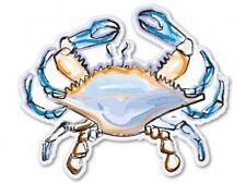 Blue Crab Art Design Car Vinyl Sticker - SELECT SIZE