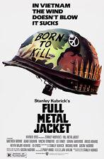 Full Metal Jacket - 1987 - Movie Poster