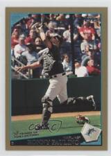 2009 Topps Gold #408 Ronny Paulino Miami Marlins Baseball Card