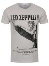 Led Zeppelin T-shirt UK Tour 1969 Men's Ice Grey