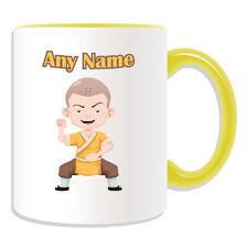 Personalised Gift Shaolin Monk Mug Money Box Cup Shao Lin Si Kung Fu KongFu Name