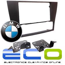 T1 audio t1-23bm01 BMW Série 3 E90 double din panneau avant fascia PANEL Noir