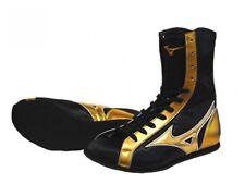 Mizuno Middle Cut Boxing Shoes Original Color Black × Gold 21Gx183000