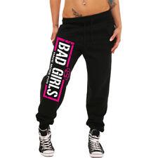Frauen Mädchen Jogginghose BAD frech böse it girl Hardcore Schlagring Pink Fun