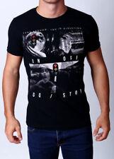 "Mens ""WRONG DIRECTION"" Tee RARE Street MMA print Tshirt SLIM FIT - MACRI"