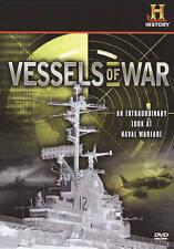 VESSELS OF WAR ~ History Channel 8 DVD Box Set ~ BRAND NEW SEALED