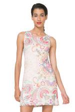 Desigual Lagrima Valk Fitted Shift Dress Swirly Floral  XS-XXL UK 8-18 RRP�64